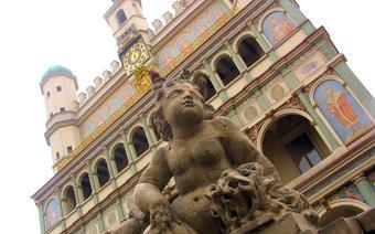 Poznański ratusz na Starym Rynku
