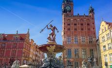Długi Targ, Fontanna Neptuna – najsłynniejszy z zabytków Gdańska