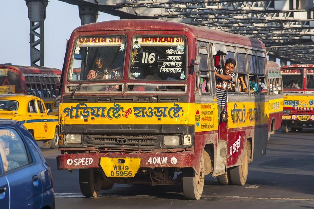 Lokalny autobus w Kalkucie