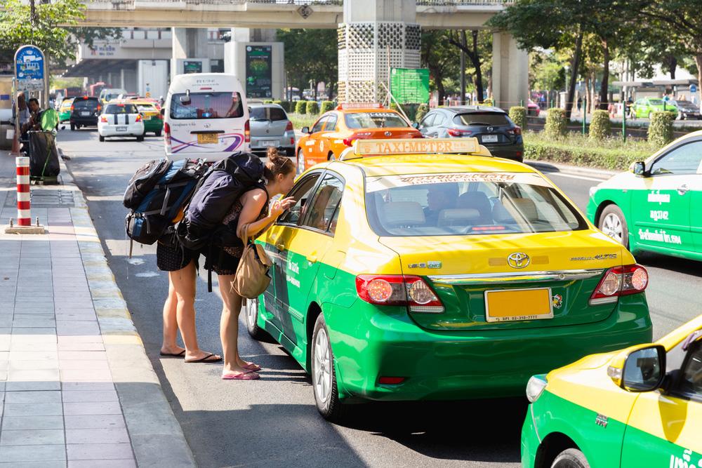 Taksówka w Bangkoku