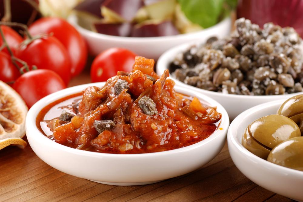 Kuchnia sycylijska - caponata