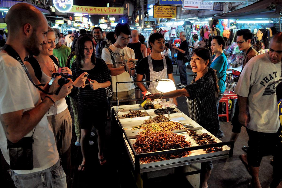 Khao-San Road w Bangkoku